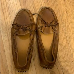 Brown Leather Cole Haan Driving Mocs/Loafers Sz 7